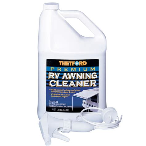 awning cleaners premium rv awning cleaner gallon thetford 32519 rv