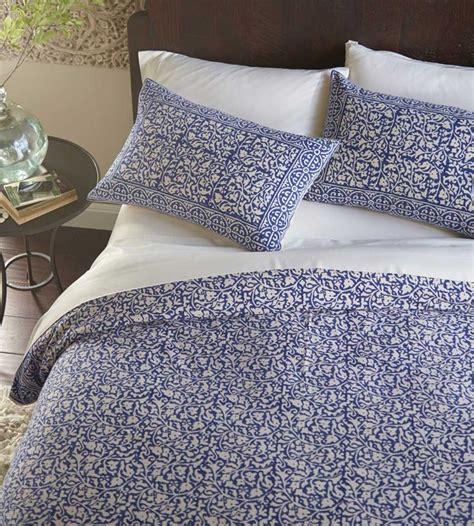 block print bedding indigo block print bedding vivaterra bed linen pinterest