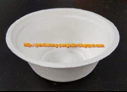 Paper Bowl Mangkuk Kertas 12oz produk bekas pinggan dan mangkuk kertas produk hijau