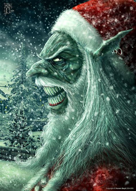imagenes anti navidad scary santa says merry christmas 187 chadfrerichs com