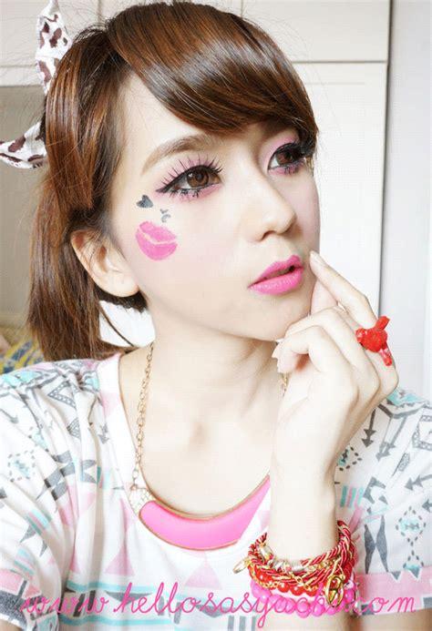 tutorial eyeliner spidol sasyachi beauty diary snsd seohyun kiss me baby g