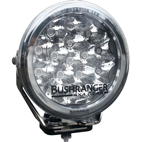 led driving lights led driving light spot beam bushranger 4x4 gear