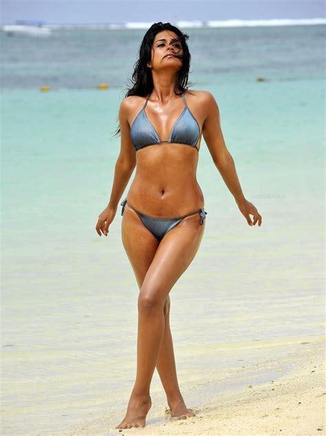 Shraddha Das In Bikini For A Latest Photo Shoot Tolly Mass Free Hd Wallpapers
