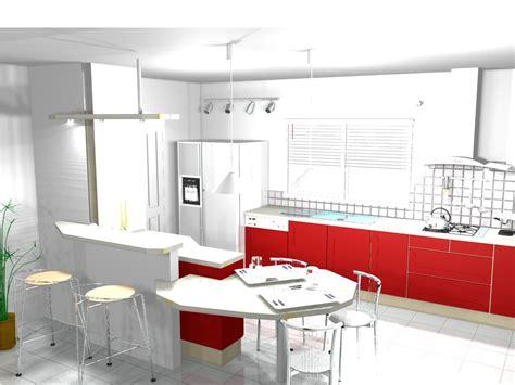 meuble bar separation cuisine americaine inspirations avec