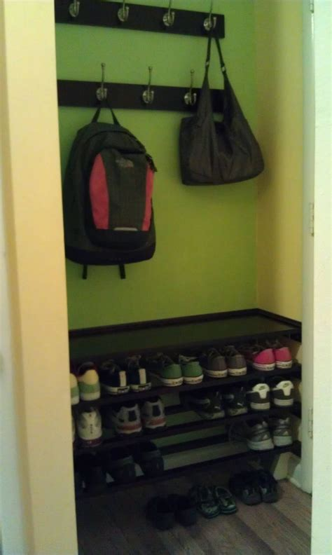 front door storage bench diy 32 best images about coat rack bench on entry