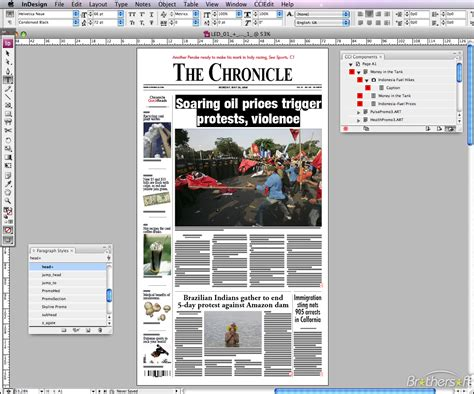 newspaper layout software free download adobe indesign for mac free download