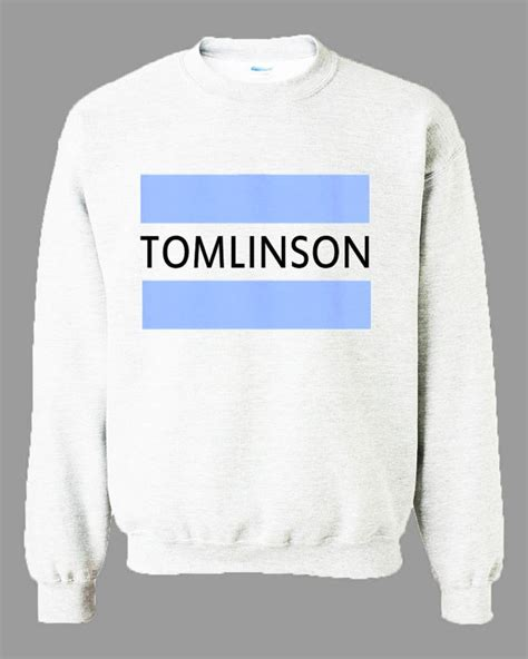 Sweater One Direction Tomlinson One Direction 1d Names Nicknames Unisex Sweater
