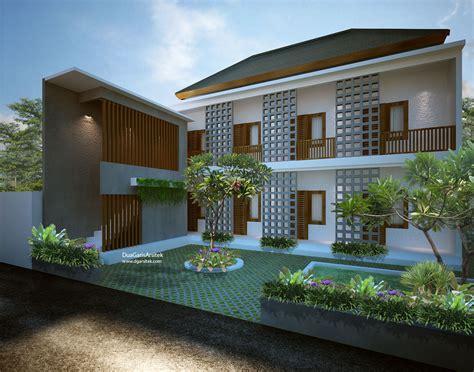 desain rumah kost eksklusif  informasi rumah
