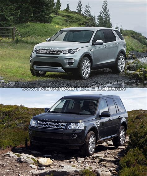 vintage land rover discovery old vs new land rover discovery sport vs freelander