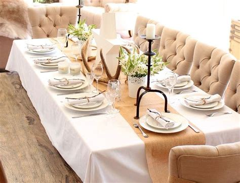 how to decorate dinner table modern table setting ideas freshome decoration for house