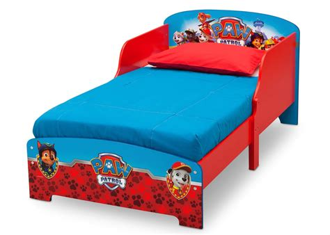 paw patrol toddler bedding paw patrol wood toddler bed delta children s products