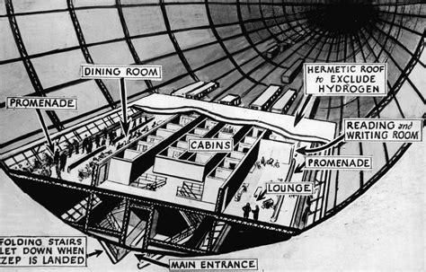 Aircraft Carrier Floor Plan by Hindenburg Airship Interior Description Diagram Of