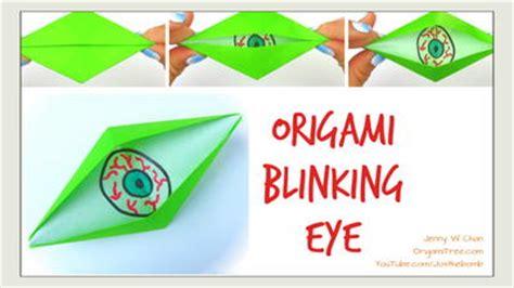 Origami Eye - origami eye allfreepapercrafts