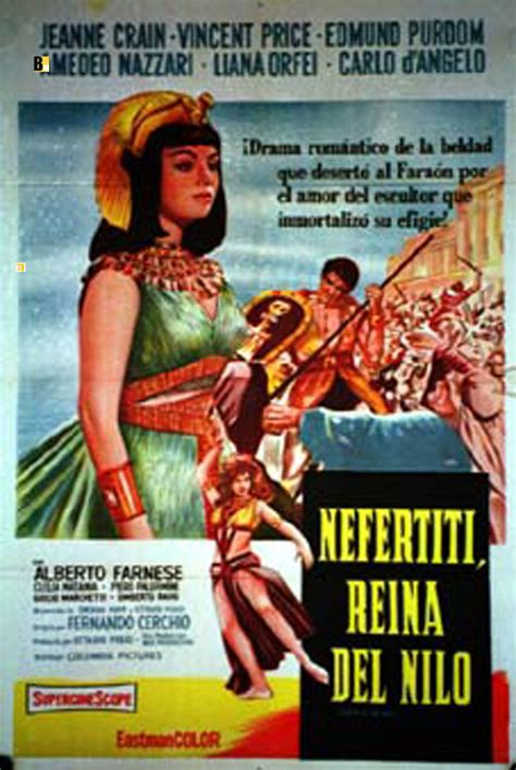 film queen of the nile quot nefertiti reina del nilo quot movie poster quot queen of the