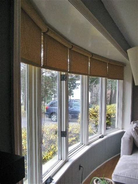 Ideas For Hton Bay Blinds Design 25 Best Ideas About Bow Window Curtains On Bay Window Treatments Diy Bay Window