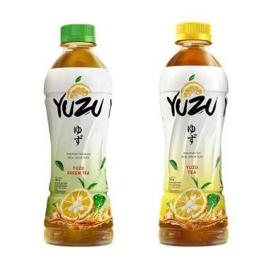 Teh Yuzu jual free sling yuzu black tea green tea
