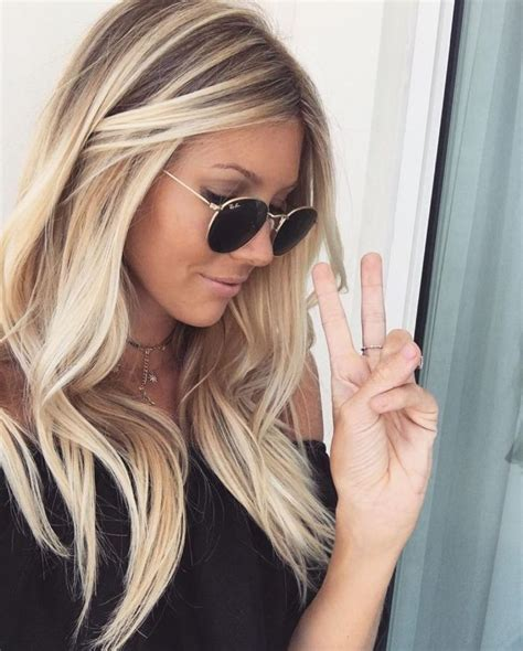 blonde hairstyles colors highlights best 25 blonde highlights ideas on pinterest blond