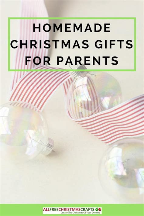 Handmade Gifts For Parents - what are gifts for parents