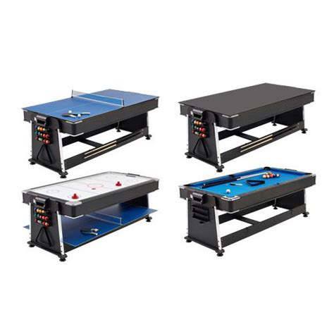 3 in 1 table tennis mightymast 7ft revolver 3 in 1 pool air hockey and table