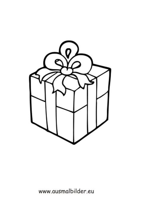 ausmalbilder geschenk weihnachten malvorlagen