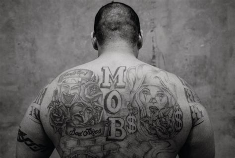 tattoo meaning in prison a statistical analysis of the art on convicts bodies