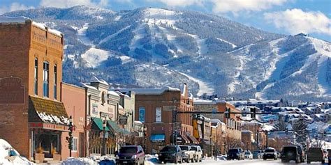 steamboat nightlife downtown steamboat springs blanketed in its winter coat