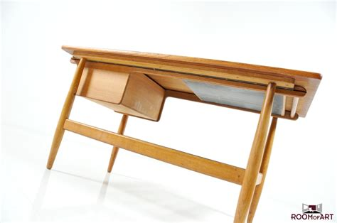 oak sofa table rare danish teak and oak sofa table modernism