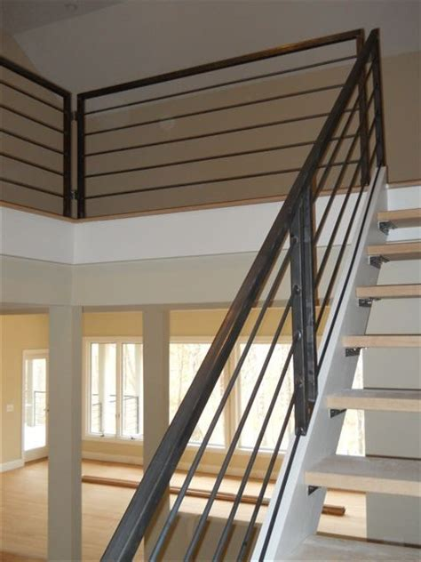Interior Metal Handrails by Interior Metal Stair Railing House Stuff