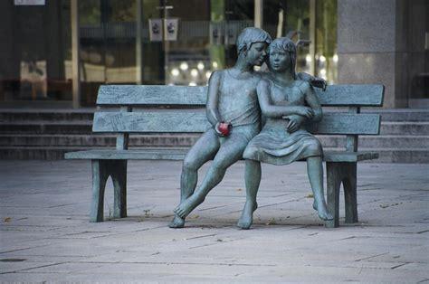 sculpture bench file sculpture lea vivot lac bac jpg wikimedia commons
