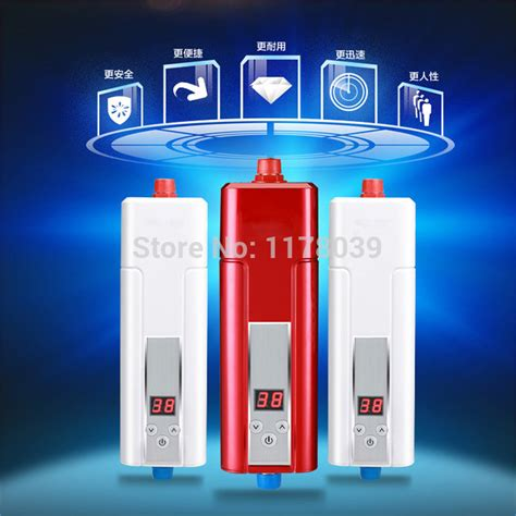 Small Water Heater For Kitchen Aliexpress Buy White Kitchen Tankless Electric