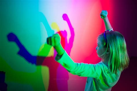 color in photography with color photography gels and rgb additive color