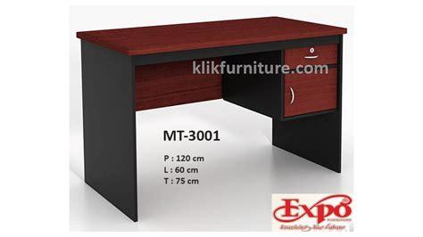 Meja Olympic 1 2 Biro mt 3001 meja tulis kantor 1 2 biro expo promo