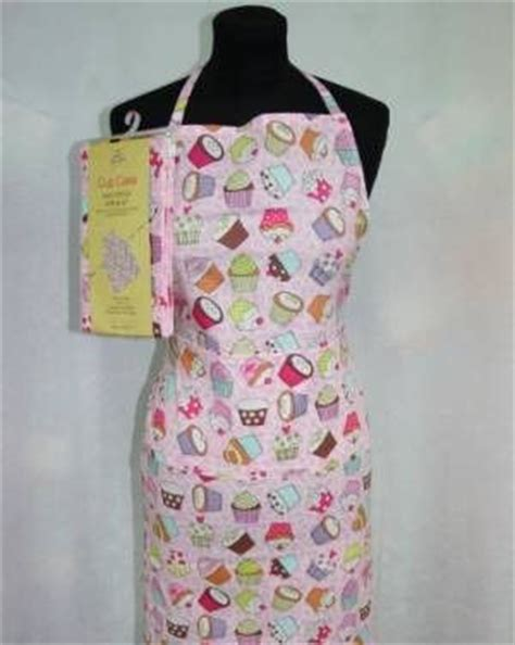 sewing apron kit cup cake cotton apron sewing kit craft cotton co