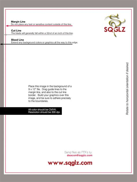 Template Not Bleed Bleed Letter Size Template By Sqglz On Deviantart