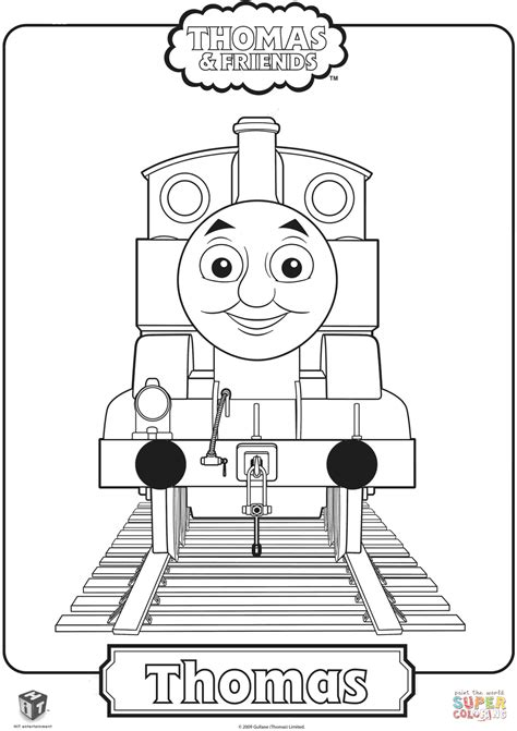 coloring page thomas the train thomas the train coloring page free printable coloring pages
