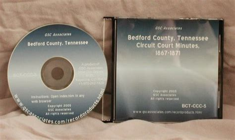Tennessee Circuit Court Records Bedford County Tennessee Circuit Court Minutes Dec 1867 Apr 1871