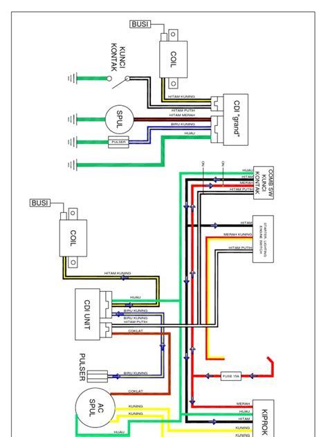 wiring diagram honda vario