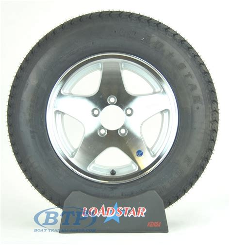 boat trailer tires and wheels boat trailer tire st205 75d15 on 5 star wheel 5 lug by