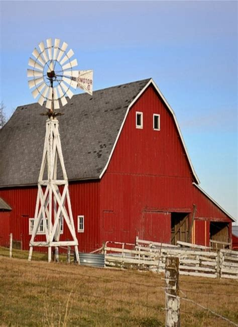 red barn red barn barns pinterest