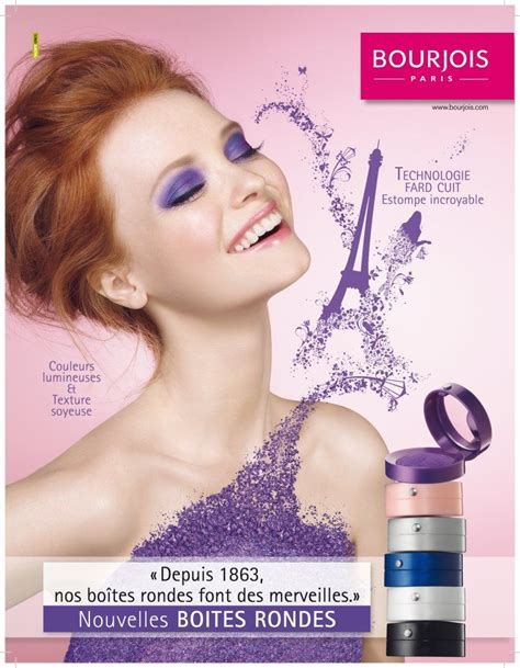 Pink Is In Bloom At Bourjois by Bourjois Make Up Ad And Eye
