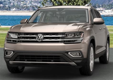 volkswagen atlas exterior 2018 volkswagen atlas exterior color options