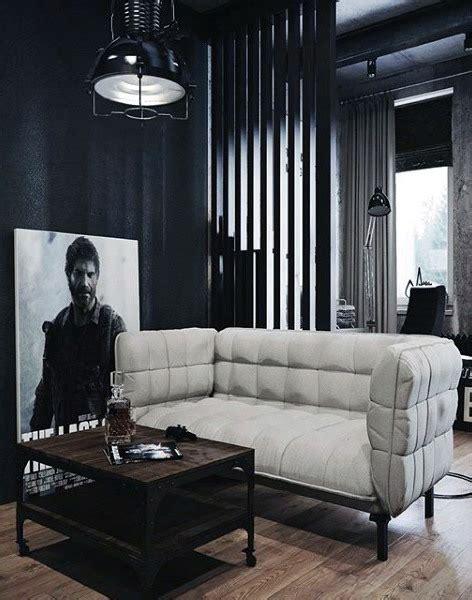 masculine decorating ideas living room 100 bachelor pad living room ideas for masculine designs