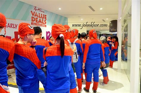 dressed as spider official launching of tgv gurney paragon guinness record attempt of the largest