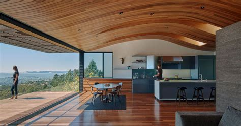 ceiling   modern house echoes  shape