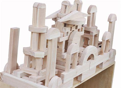 Mainan Edukatif Mainan Balok Kayu Balok Umum 298pcs Polos balok umum 1000 3cm mainan kayu