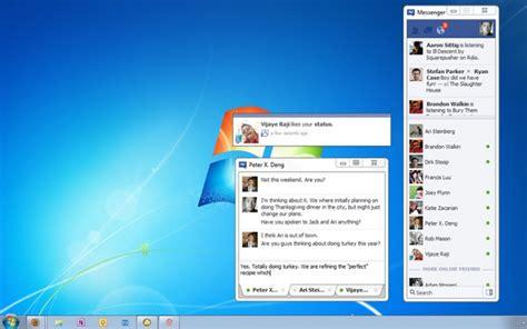 trasforma facebook in windows 7 descarga facebook messenger en tu computadora