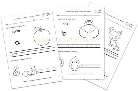 Letter Worksheet For Kindergarten kindergarten letters worksheets for esl kindergarten