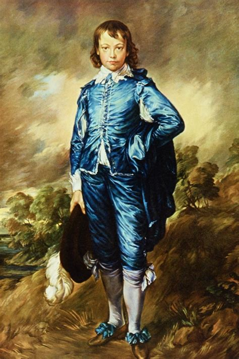 Boy Blue realee quot blue boy quot by gainsborough