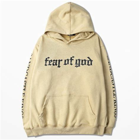 Sweater Hoodie Fear Of God Black Premium sweater 2016 clothes 2016 hoodie fear of god clothes