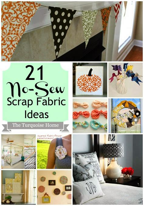 no sew craft projects 21 no sew fabric scrap ideas southern fabricsouthern fabric